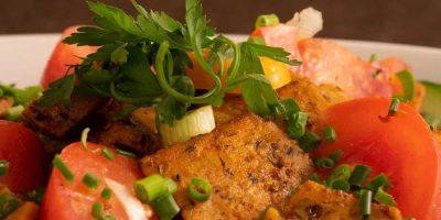 Schwarzeradler-Salat